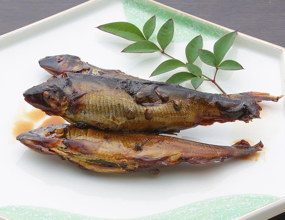 小鮎木の芽煮