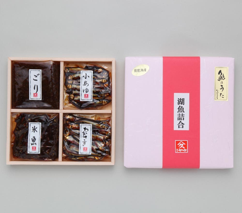 小鮎・わかさぎ・ごり・氷魚(小鮎稚魚)